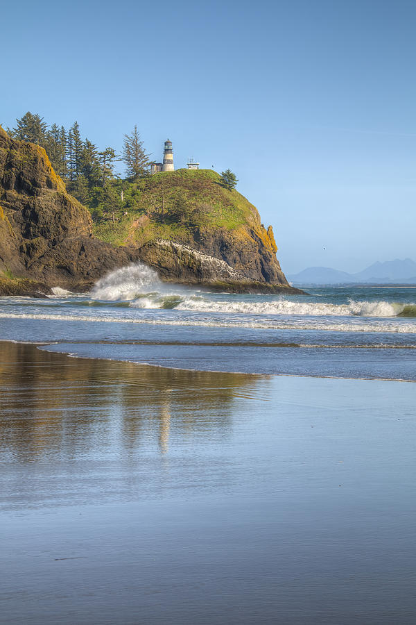 Coast Photograph - Cape Disappointment - Vertical by Kristina Rinell