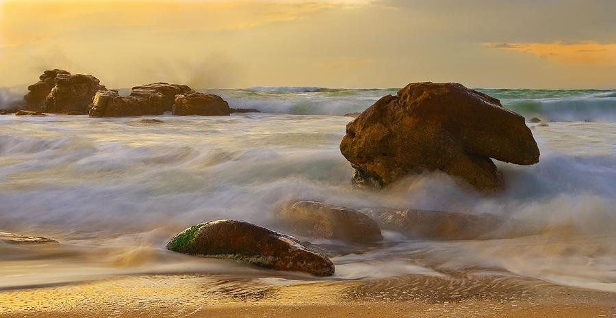 Sea Photograph - Cape Doctor by Basie Van Zyl