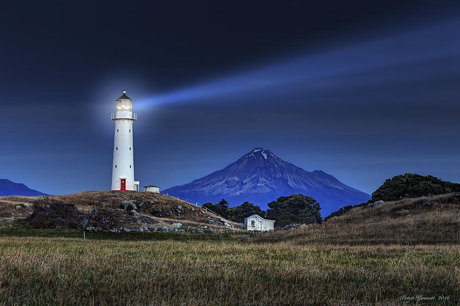 Cape Egmont by Peter Kennett