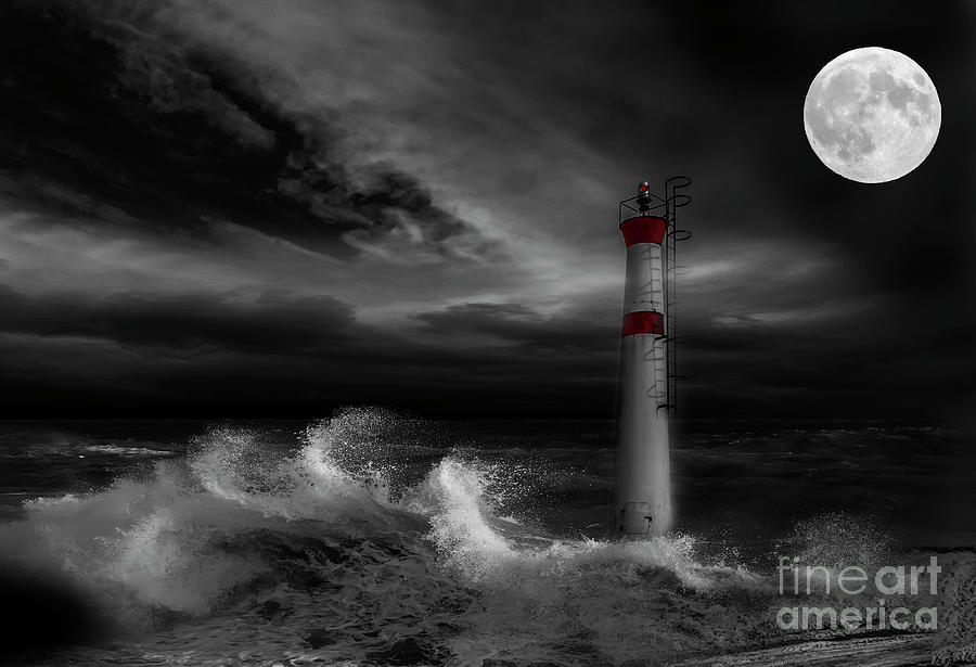 Lighthouse Photograph - Cape Fear by Nancy Dempsey