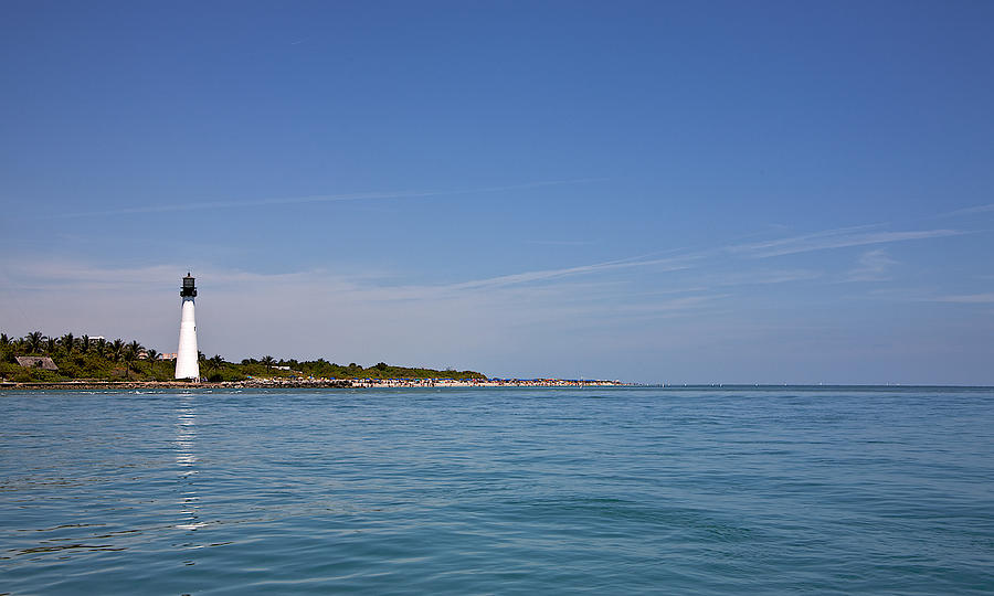 Miami Photograph - Cape Florida Lighthouse by William Wetmore