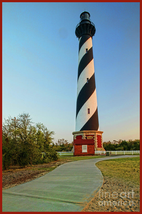 Cape Hatteras Lighthouse Photograph - Cape Hatteras Lighthouse In Morning  by Doug Berry