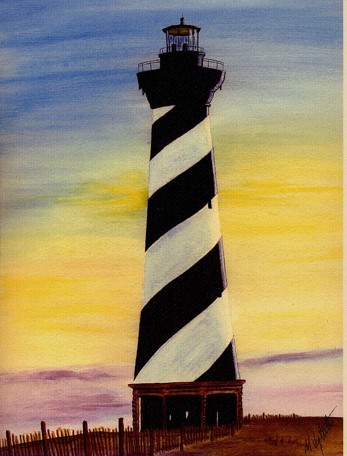 Cape Hatteras Lighthouse Painting By Michael Vigliotti