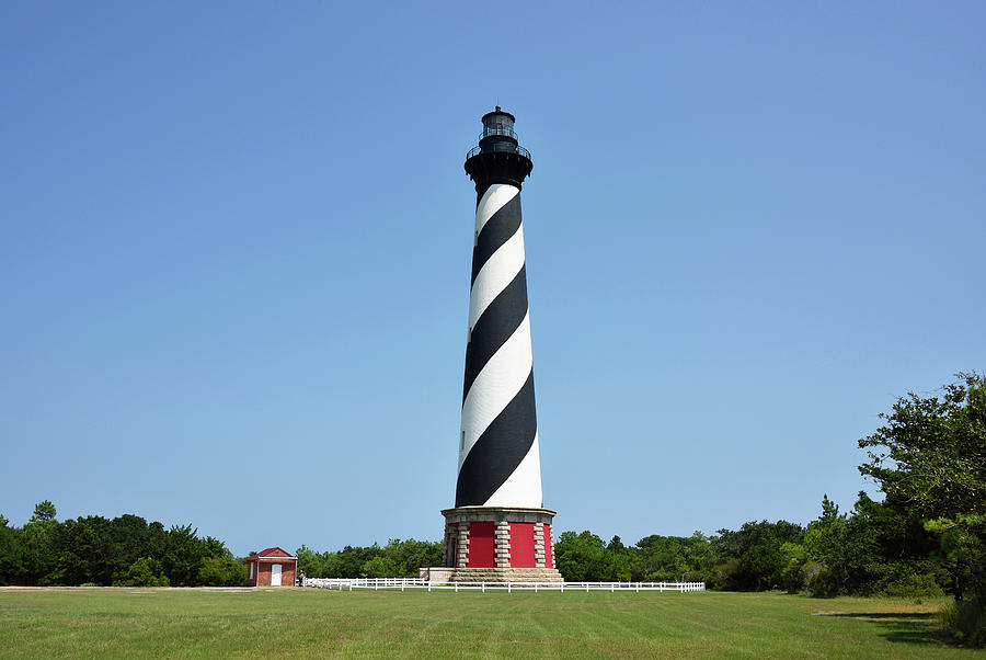 Cape Hatteras Lighthouse Photograph - Cape Hatteras Lighthouse - Outer Banks by Brendan Reals