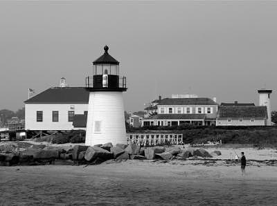 Nantucket Photograph - Cape Light House by William Love