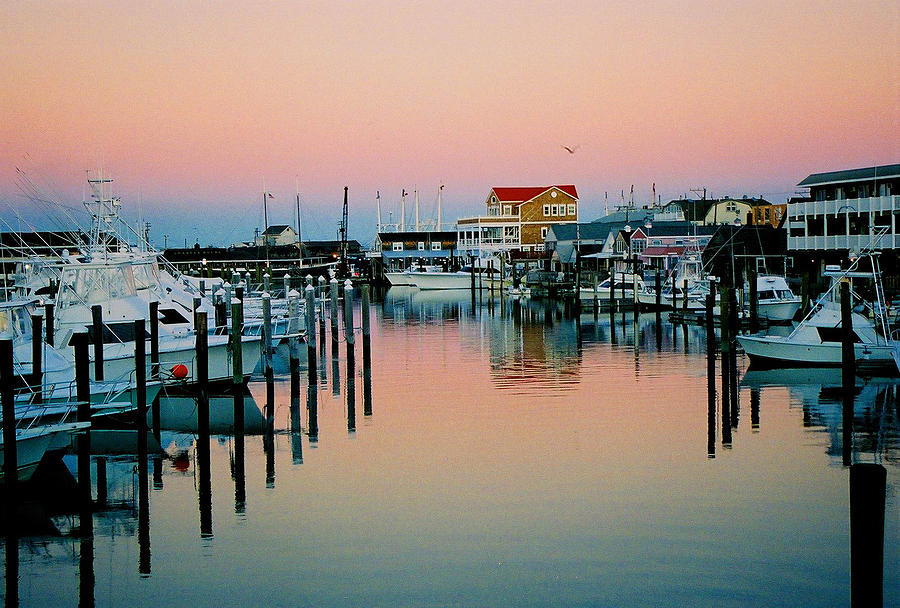 Cape May Photograph - Cape May after Glow by Steve Karol