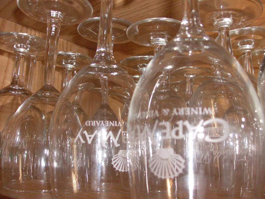 Wine Glasses Photograph - Cape May by Bob Smith