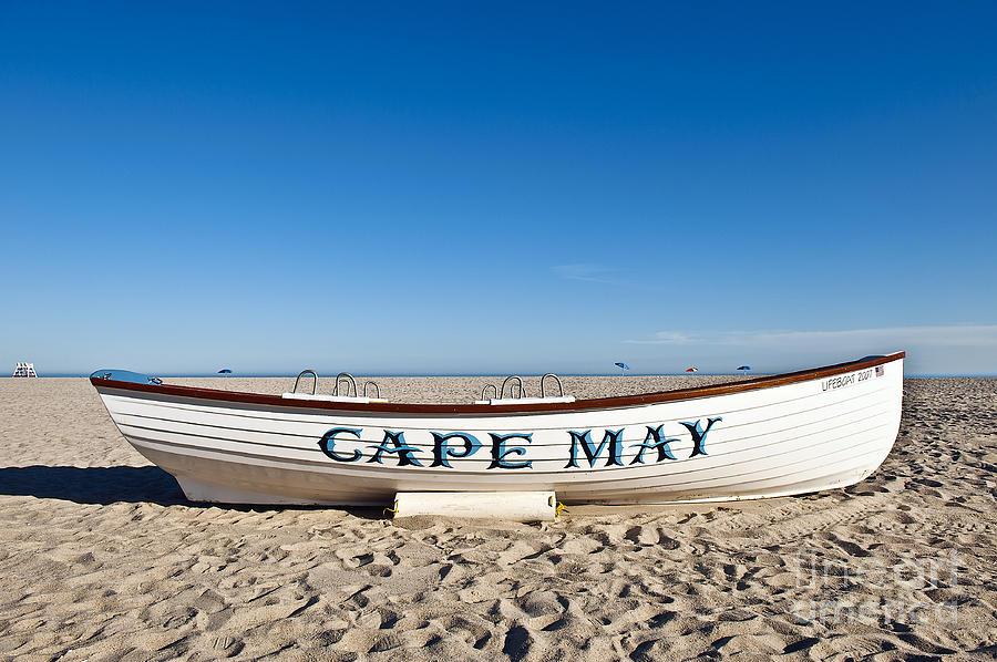 Beach Photograph - Cape May by John Greim