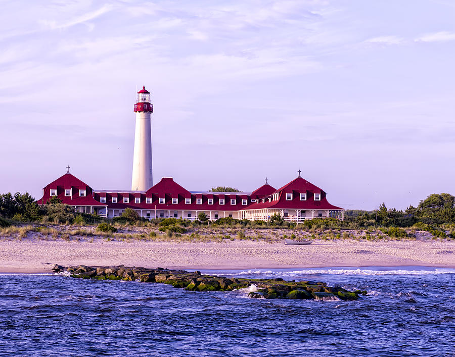 Cape May Light house by Linda Constant