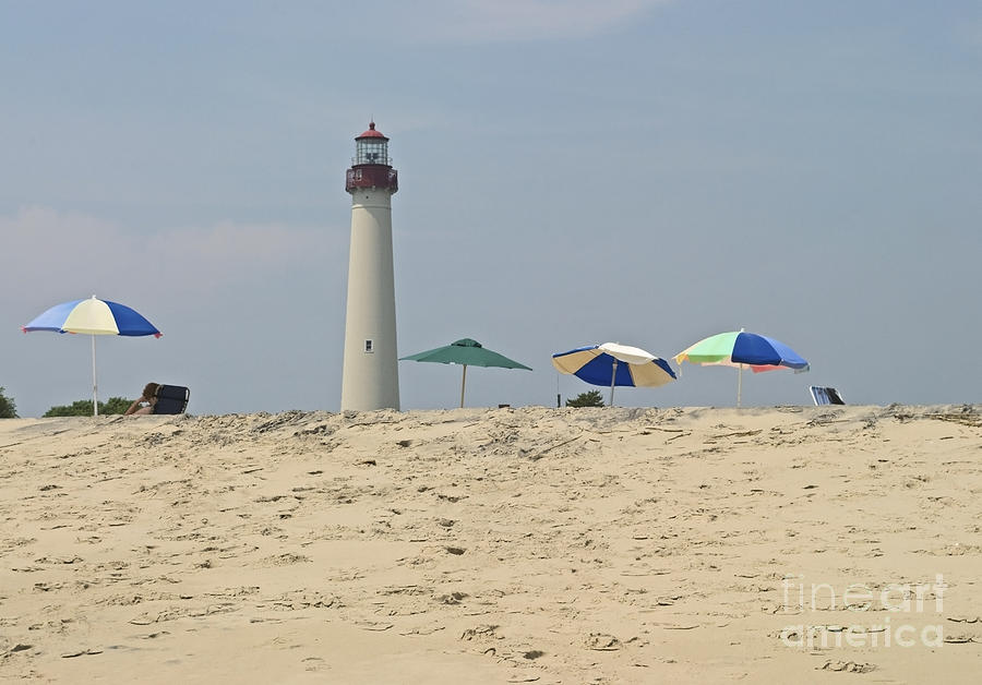 Lighthouse Photograph - Cape May Lighthouse View by Andrew Kazmierski