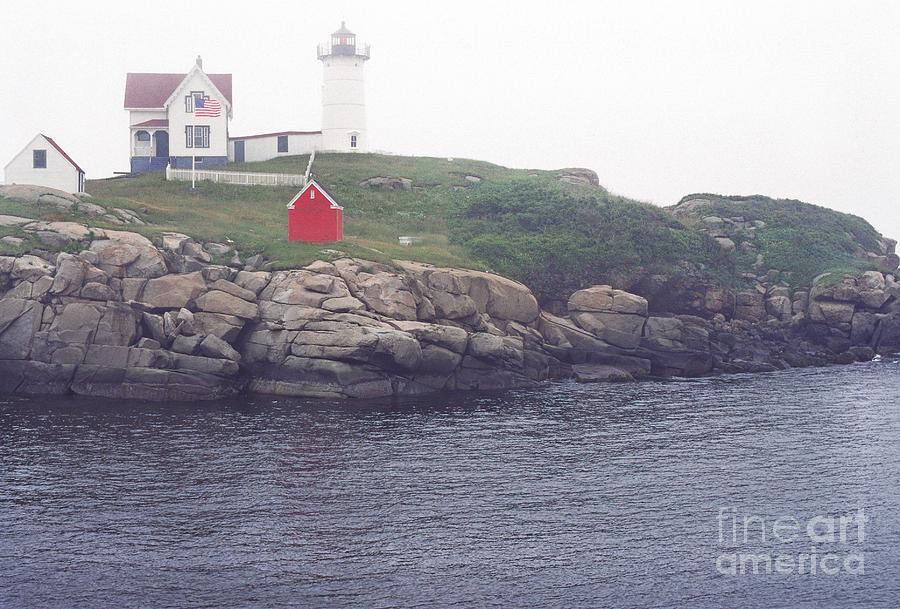 Cape Neddick Lighthouse Photograph - Cape Neddick Lighthouse by Thomas R Fletcher
