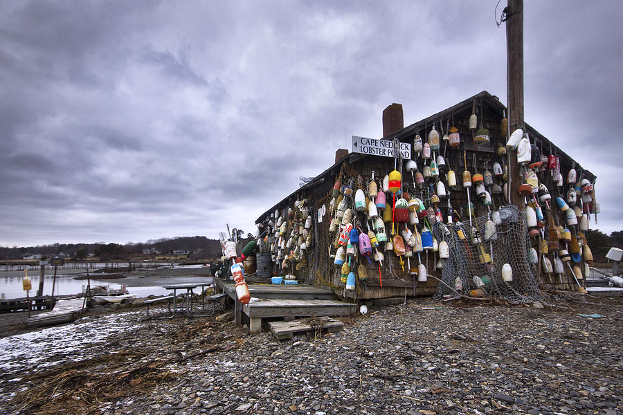 Cape Photograph - Cape Neddick Lobster Pound by Eric Gendron