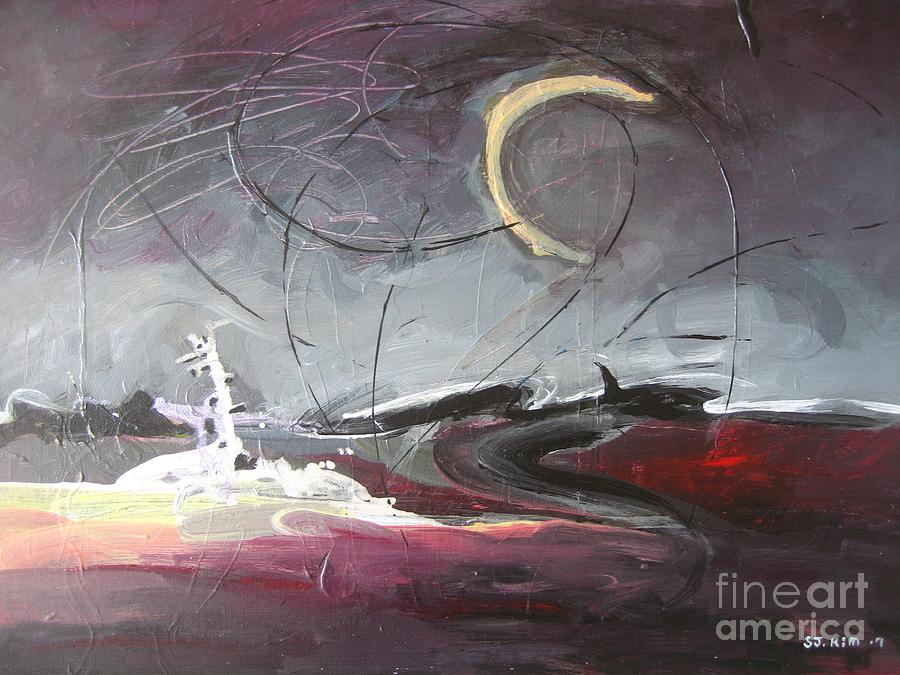 Abstract Paintings Painting - Cape St. Mary by Seon-Jeong Kim