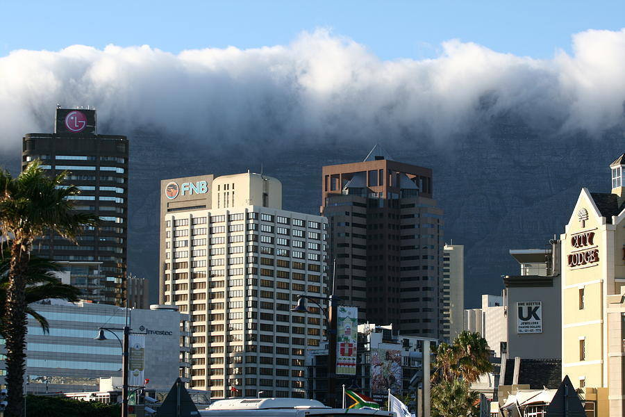 South Africa Photograph - Cape Town - Smoking Mountain by Andrei Fried