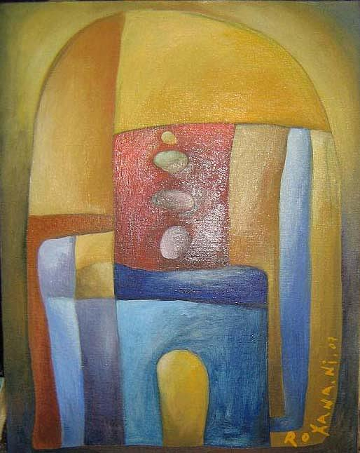 Capela Painting by Roxana Niculae