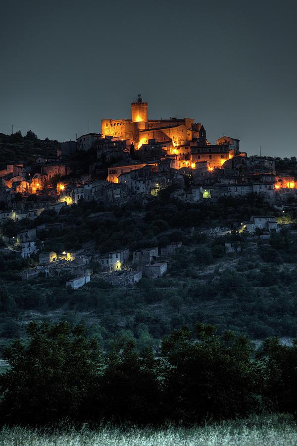 Romantic Photograph - Capestrano Abruzzo Italy by Tom  Doherty