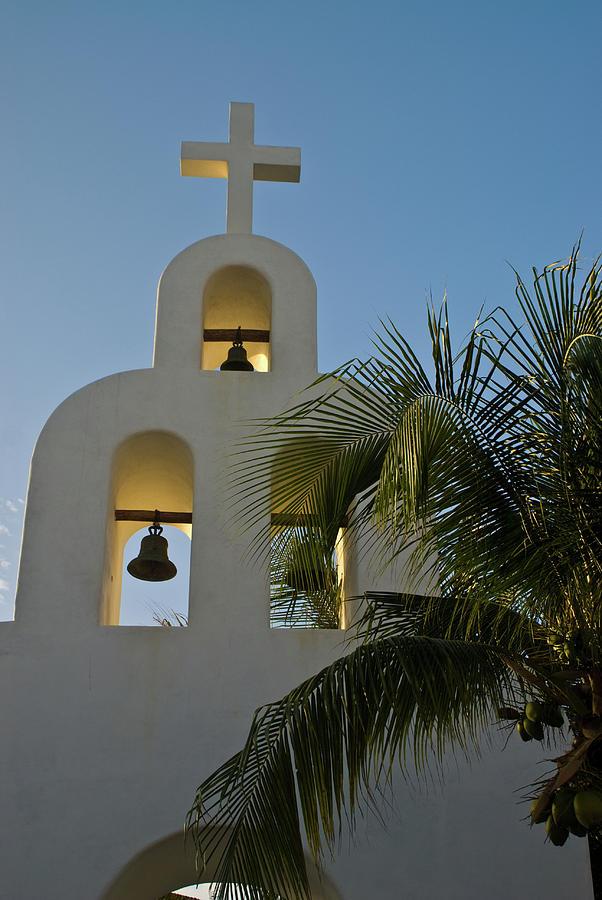 Capilla Photograph - Capilla de Nuestra Senora del Carmen 1 by Douglas Barnett