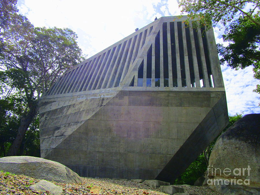 Bnkr Arquitectura Photograph - Capilla Del Atardecer 1 by Randall Weidner