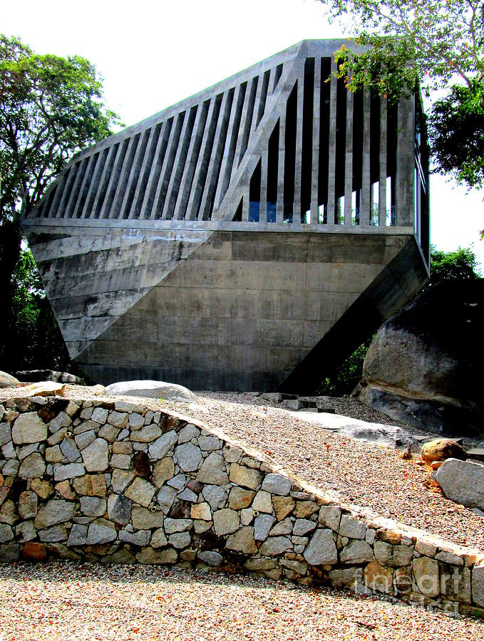 Bnkr Arquitectura Photograph - Capilla Del Atardecer 4 by Randall Weidner