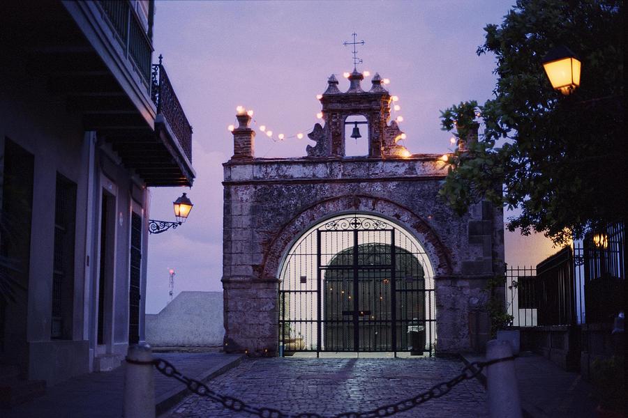 Architecture Photograph - Capilla Del Cristo Chapel  Old San Juan  Puerto Rico by George Oze