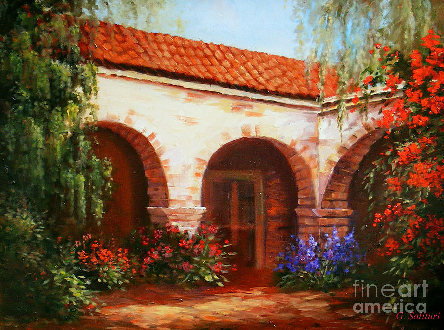 Landscape Painting - Capistrano by Gail Salitui