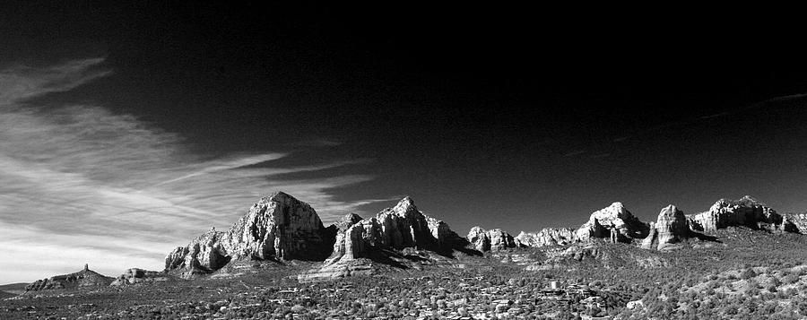Sedona Photograph - Capital Dome 3 by Randy Oberg
