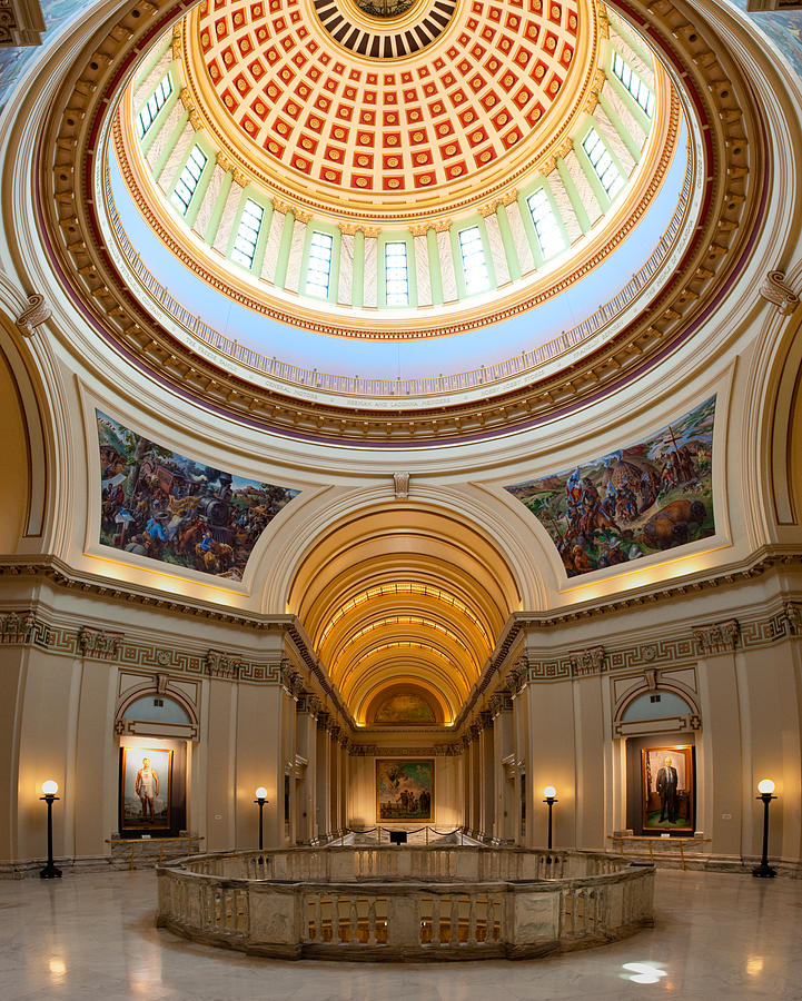Administration Photograph - Capitol Interior II by Ricky Barnard