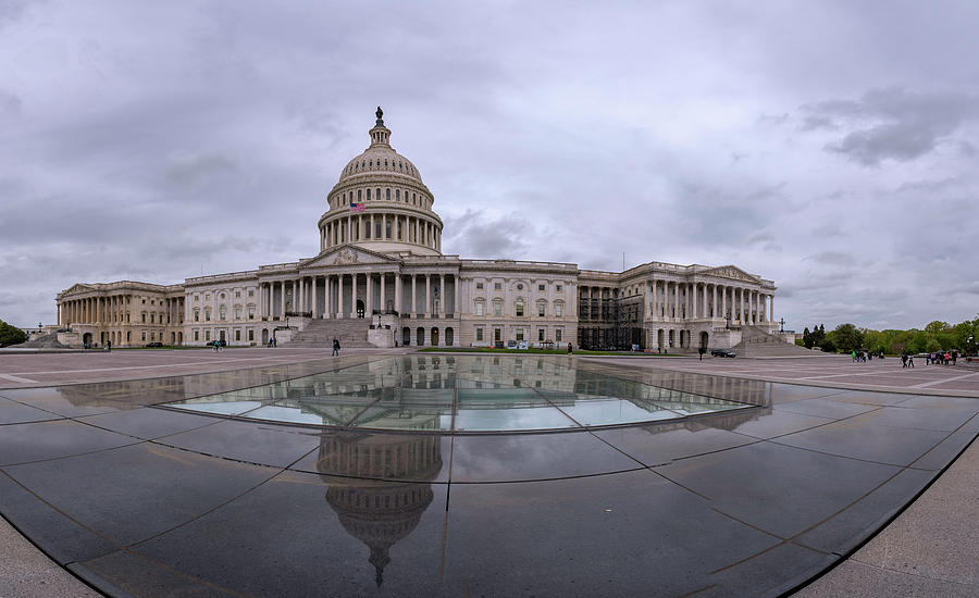 Capitol Reflection by Michael Donahue