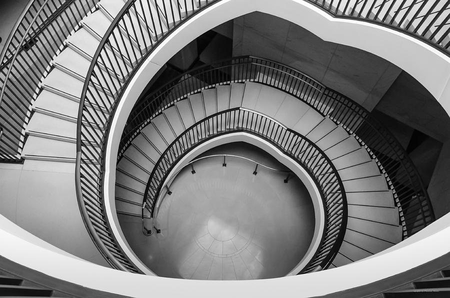 Washington Dc Photograph - Capitol Stairs by Frank Mari