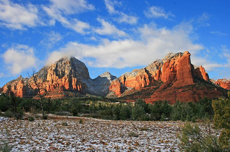 Sedona Photograph - Capitol To Coffeepot by Gary Kaylor