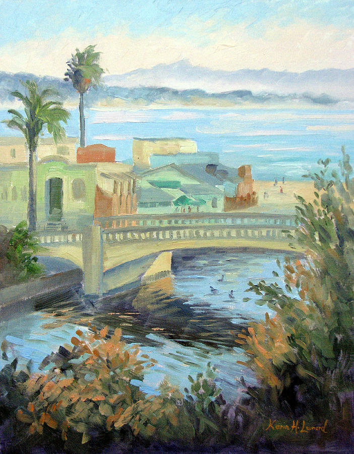 Capitola Dreaming Painting