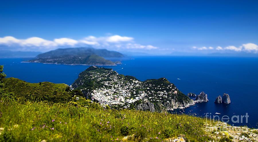 Capri Photograph - Capri by Alessandro Giorgi Art Photography