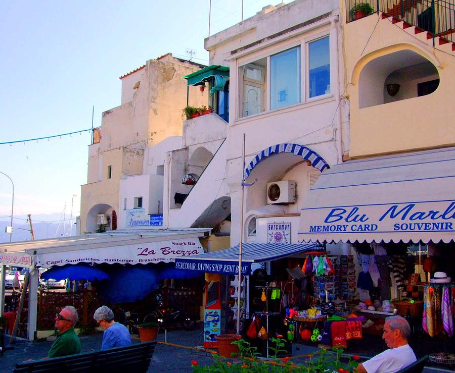 Capri Photograph - Capri By The Sea by Mindy Newman