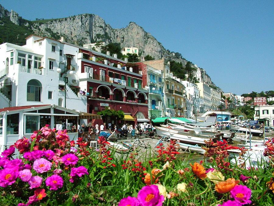 Capri Photograph - Capri by Donna Corless