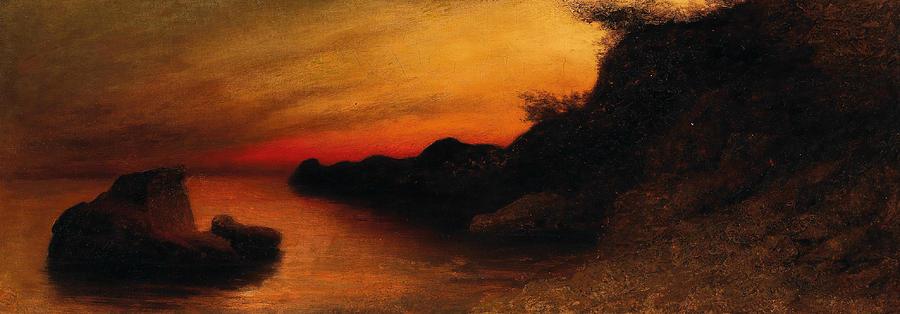 German Painters Painting - Capri by Karl Wilhelm Diefenbach
