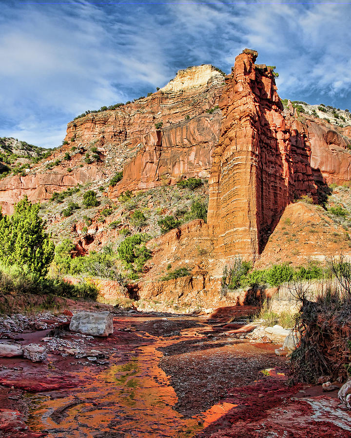 Caprock Canyon Cliff by Adam Reinhart