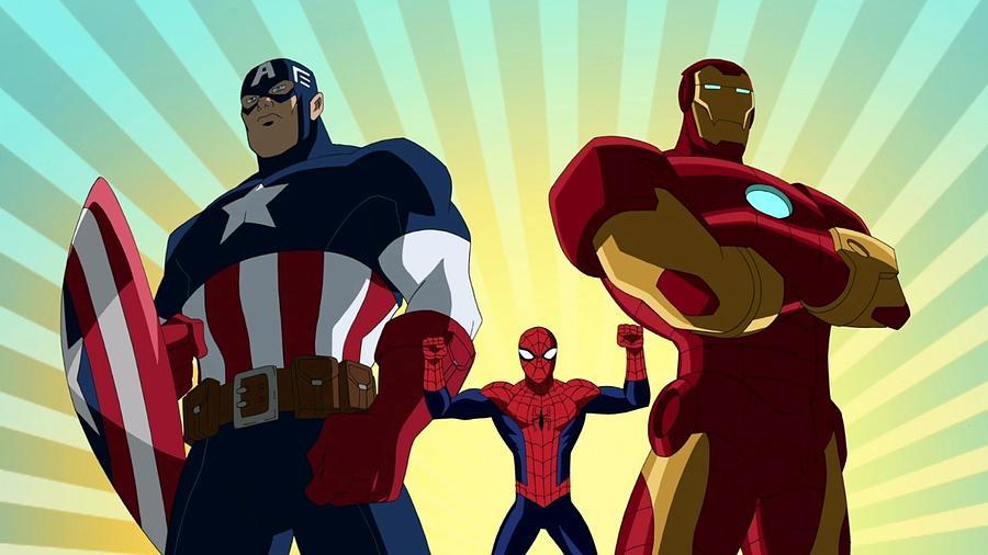 Captain America, Spider-Man and Iron Man-524 by Jovemini ART