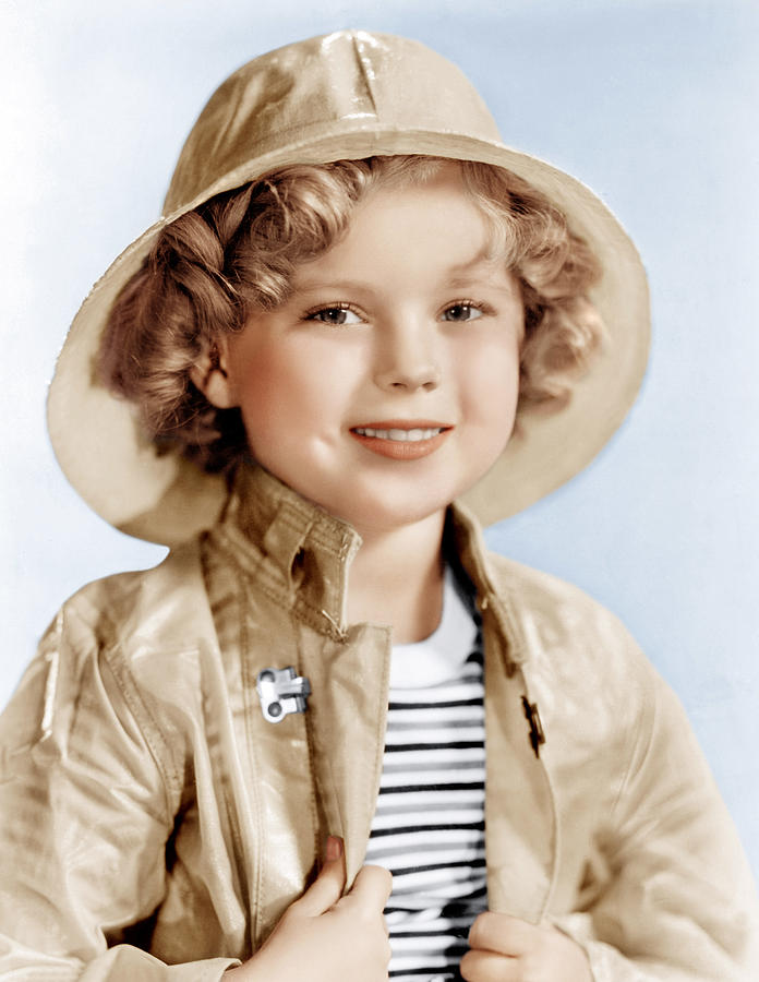 1930s Movies Photograph - Captain January, Shirley Temple, 1936 by Everett