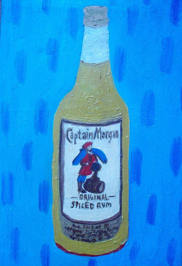 Colorful Painting - Captain  Morgan by Patrice Tullai