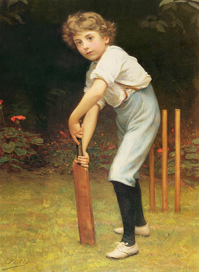 Captain Painting - Captain Of The Eleven by Philip Hermogenes Calderon