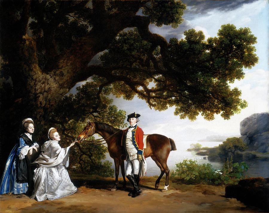 Captain Samuel Sharpe Pocklington Painting by George Stubbs