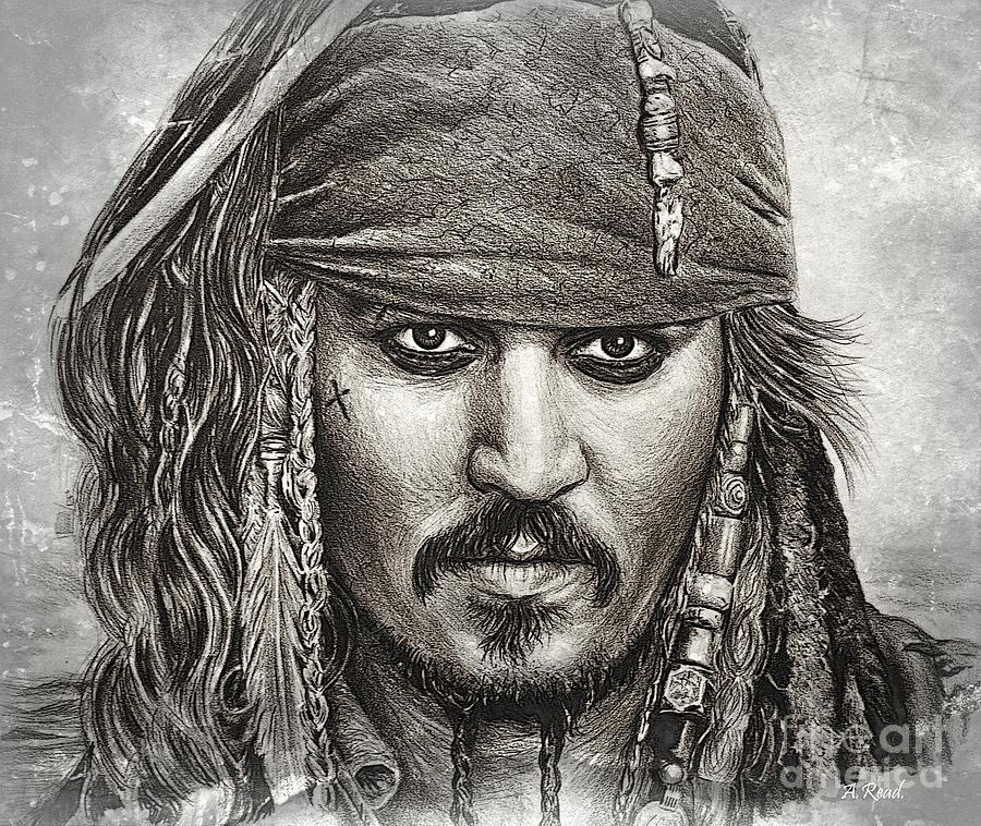 Captain Sparrow Ship Ahoy Edit Drawing