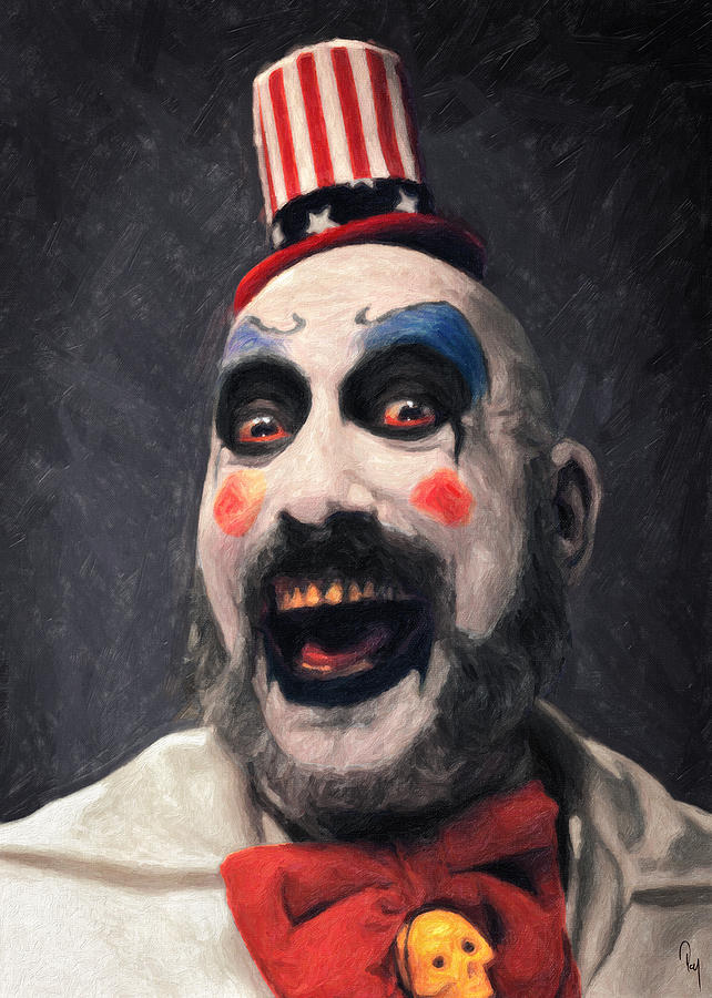 Captain Spaulding Painting By Taylan Apukovska