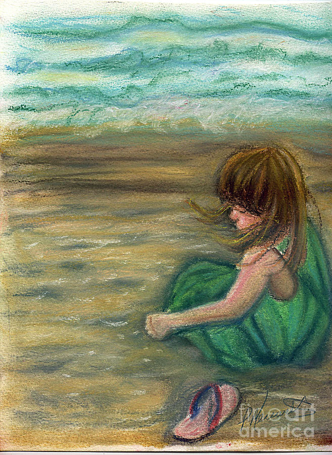 Child Pastel - Captiva Princess by Patricia Merewether