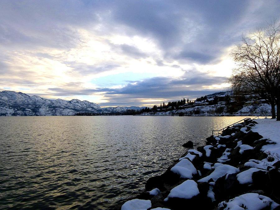 Captivating Photograph - Captivating Okanagan Lake by Will Borden
