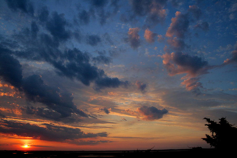 Sunset Photograph - Captree Sunset by Christopher Kirby