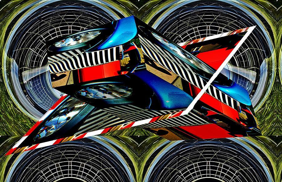 Car Grille As Art 2 Digital Art