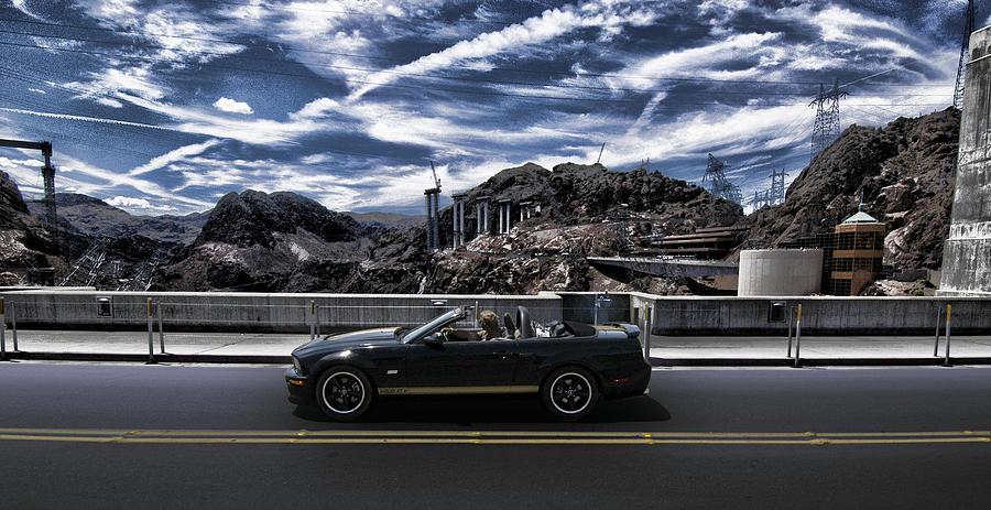 Car Bridge Photograph - Car by Marco Moscadelli