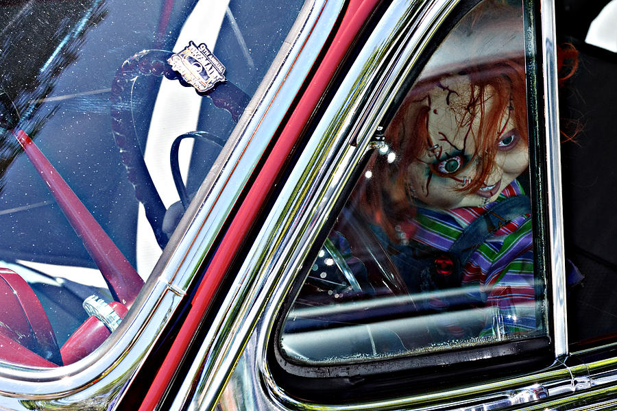 Car Of Chucky Chucky Doll In A Chevy At The Golden State - Car show paso robles 2018