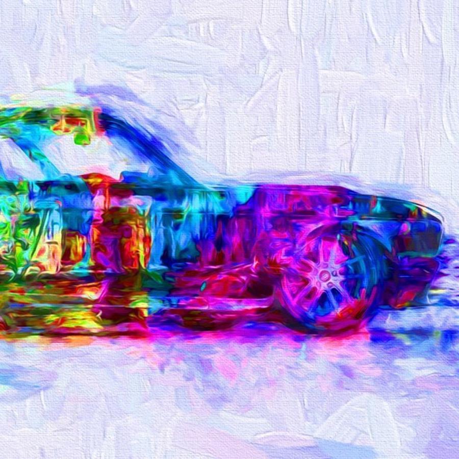 Sportscar Photograph - #car #sportscar #racecar #nascar by David Haskett II